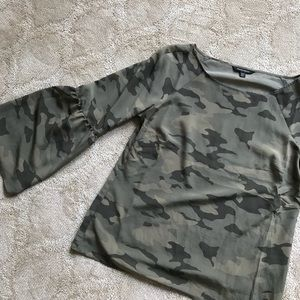Banana Republic Tops - Banana Republic camo blouse